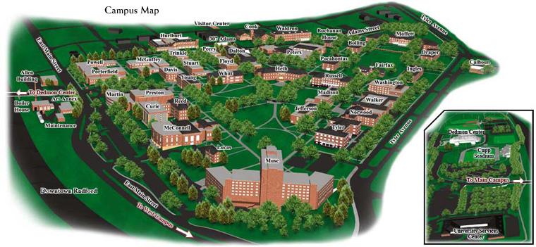 RU Campus Map