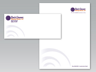 soupbone creative letterhead and envelope design