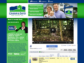 Graham and David Real Estate Website