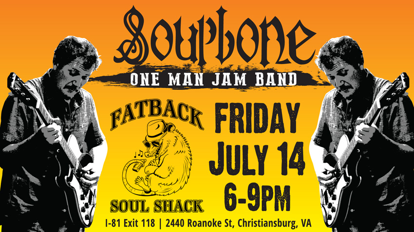 Soupbone plays Fatback Soul Shack