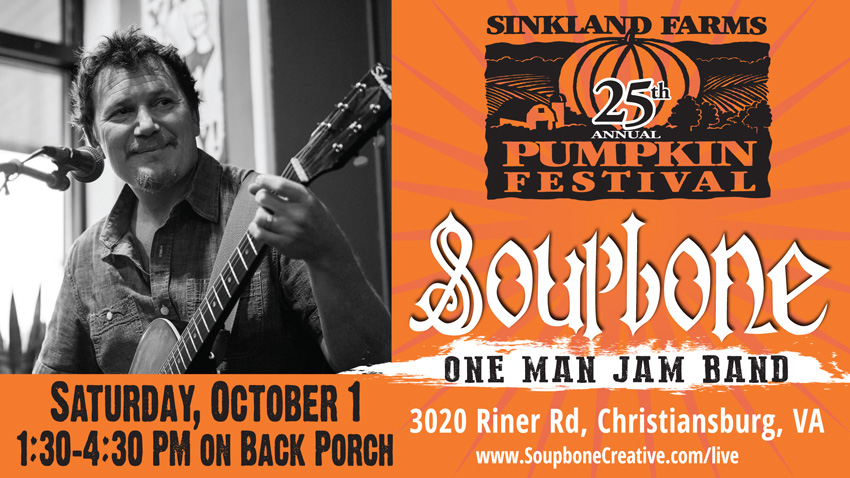 Soupbone plays Sinkland Farms Pumpkin Festival