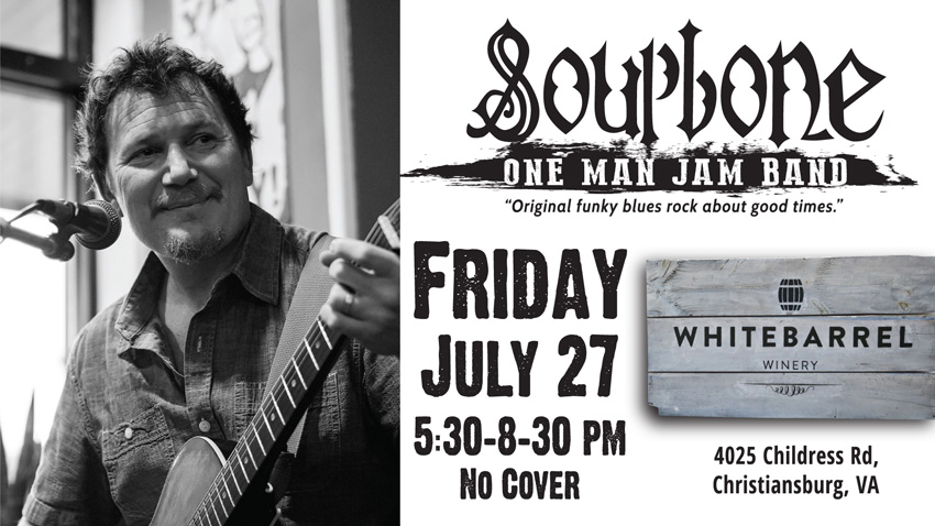 Soupbone plays Whitebarrel Winery
